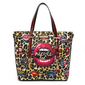 """Nicole Lee USA """"Wild Lips"""" Exotic Shopper Bag for Sale in Pompano Beach, FL"""