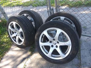 G35 infinity rims and tires 2003 2007 for Sale in Miami Shores, FL