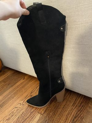 Black heeled boots for Sale in Long Beach, CA