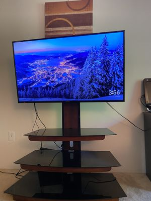 Panasonic Tv tc-50a400u (50 inch) + Tv stand for Sale in Dracut, MA