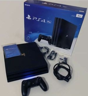 PS4 Pro 1TB Bundle for Sale in Annandale, VA