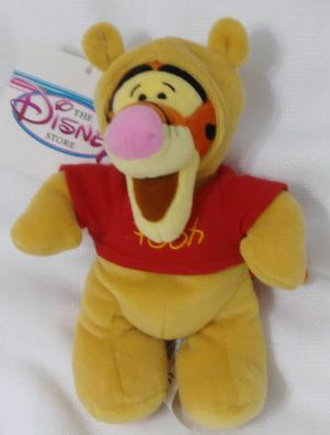 Tigger as Pooh Halloween Costume Disney Bean Bag Plush Doll for Sale in Homestead, FL