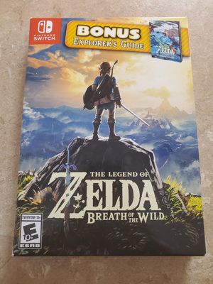 The Legend Of Zelda Breath Of The Wild for Sale in Wahiawa, HI