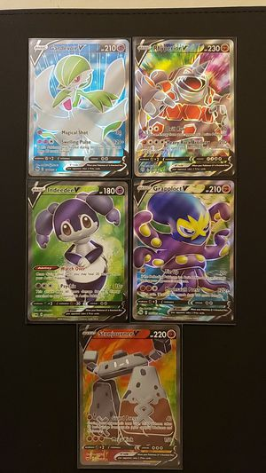 Pokemon full art cards for Sale in Puyallup, WA