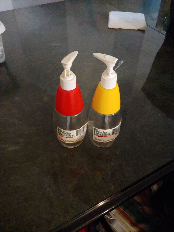 Red and Yellow dispensers