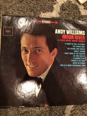 Andy Williams moon river vinyl for Sale in Conshohocken, PA