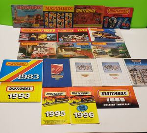 Matchbox Vintage Car Catalogs (You get them all) for Sale in Reinholds, PA