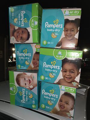 Pampers diapers for Sale in Valley Stream, NY
