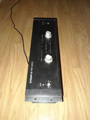 Crown PS-200 amplifier for Sale in Los Angeles, CA