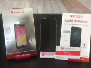 iPhone 7 with screen protection for Sale in Belpre, OH
