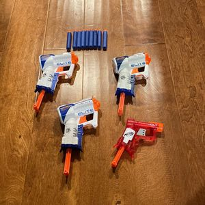 Elite Nerf guns And A Jolt Nerf gun for Sale in Tacoma, WA