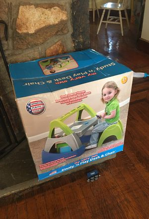 Kids stay&play desk/chair for Sale in West Springfield, MA