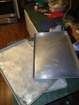 Commercial grade aluminum baking sheets for Sale in Riverside, CA