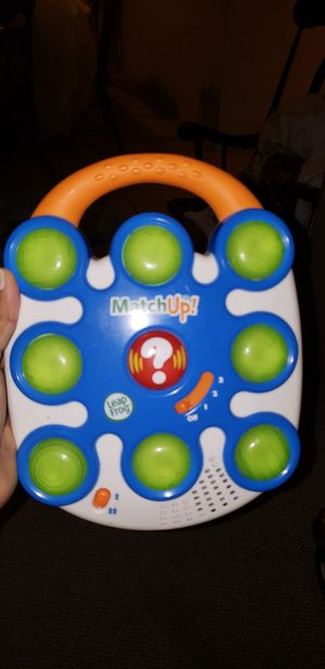 Leap frog matching game for Sale in Port St. Lucie, FL