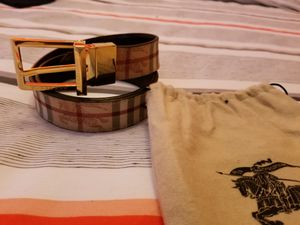 Burberry belt with dust bag,brand new. for Sale in Springfield, VA