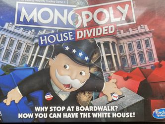 Monopoly house divided NEW unopened for Sale in Coronado,  CA