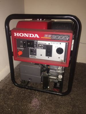 Honda 3000 Generator for Sale in Capitol Heights, MD