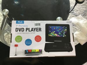 Brand new Atak 7 inch portable DVD player for Sale in Ruskin, FL
