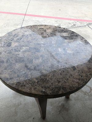 Granite bar table and 2 stools for Sale in Rosenberg, TX