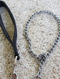 Large Breed Dog Chain and Leash for Sale in Winter Haven,  FL