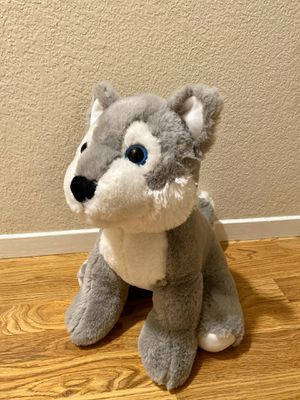 Large Wolf Stuffed Animal for Sale in Sonoma, CA