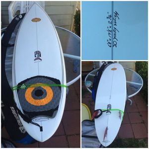 "6'8"" Wayne Lynch surfboard - ready to rip in winter waves! for Sale in San Diego, CA"