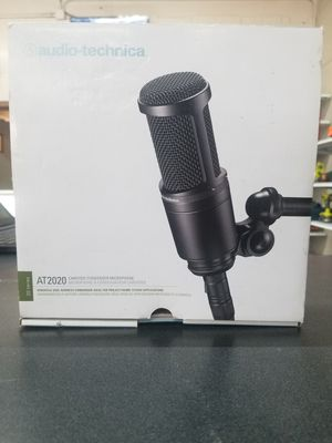 Audio-Technica AT2020 Large Diaphragm Condenser Microphone for Sale in Irving, TX