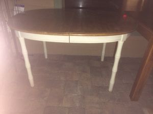Formica top kitchen or dining table with leaf for Sale in Wildwood, FL