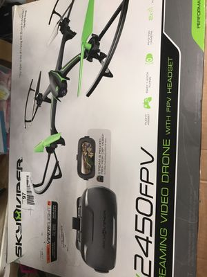 Sky viper v2450fpv drone for Sale in Plain City, OH
