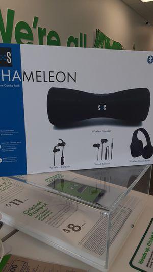 Chameleon Headphones and Speaker for Sale in Salisbury, MD