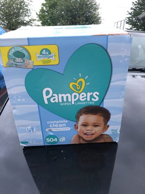 Wipes pampers for Sale in Tacoma, WA