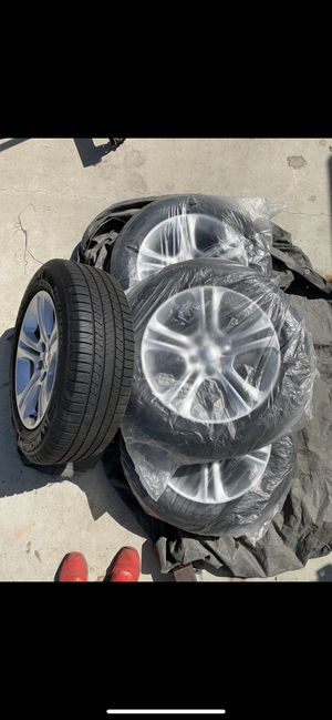 Michelin tires and Dodge Charger wheels for Sale in Compton, CA