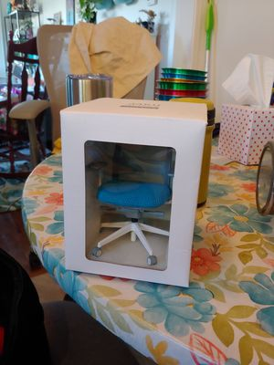 Office chair miniature - for dollhouse or desk decoration - like Steelcase chair for Sale in Greenville, NC