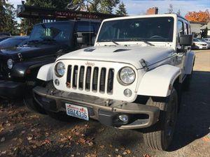 2016 Jeep Wrangler Unlimited for Sale in REDMOND, WA
