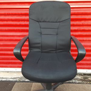 Black Fabric Office Chair for Sale in Fort Lauderdale, FL