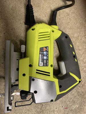 Ryobi Jigsaw electric 4.8 Amp corded variable 3 speed power tool. EXCELLENT Sale. for Sale in Camas, WA