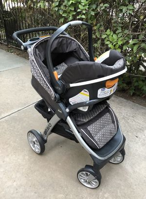 Chicco Bravo Trio Travel System Stroller - Lilla for Sale in Milpitas, CA