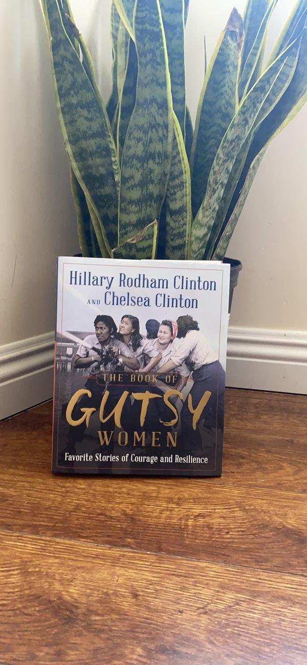 The Book is Gutsy Women by Hillary Clinton