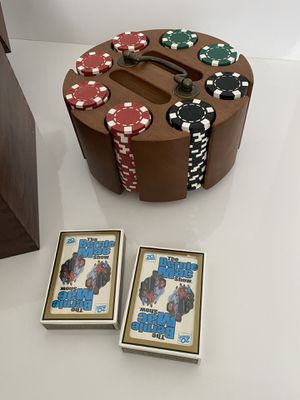 "Poker Chip Set in ""The Bernie Mac Show"" Carrying Case for Sale in Nashville, TN"