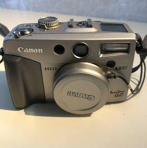 Canon Digital Camera G-2 PowerShot $60.00 for Sale in Visalia, CA