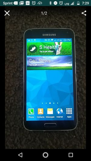 Sprint Samsung Gallaxy S5 16GB Phone!! for Sale in Frederick, MD