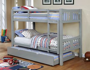Full/ Full Bunk Bed W/ Trundle ON SALE🔥 for Sale in Fresno, CA