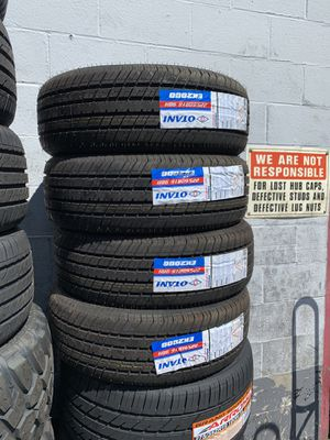 BUY 4 NEW TIRES GET FREE ALIGNMENT CALL OR TEXT for Sale in Stockton, CA