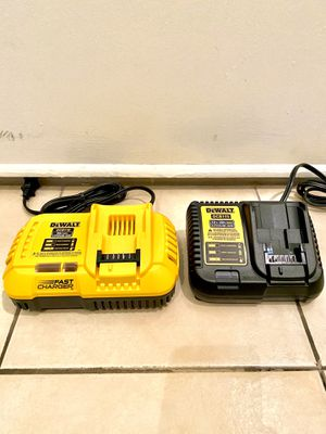 DeWalt fast Chargers for Sale in Houston, TX