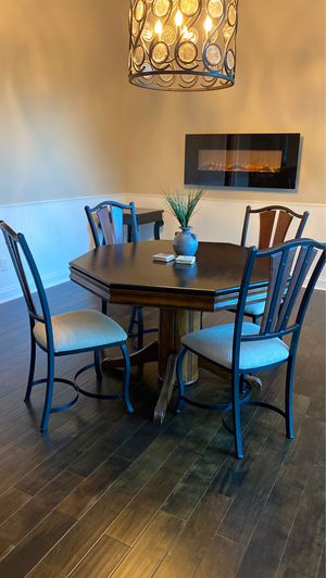 Game / dining table with four chairs for Sale in Windermere, FL