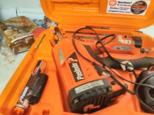 Paslode nail gun great shape newer style framing gun shoots 3 and 1/2 inch nails for Sale in Redford Charter Township, MI