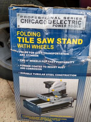 Pro Series Stand for tile saw - new for Sale in Hialeah, FL