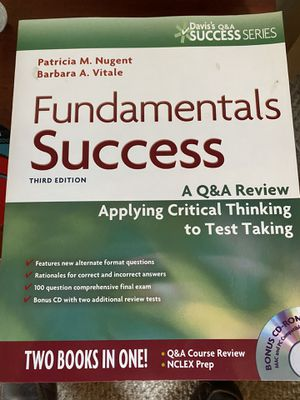 NCLEX prep fundamentals Success 3rd for Sale in Sterling Heights, MI