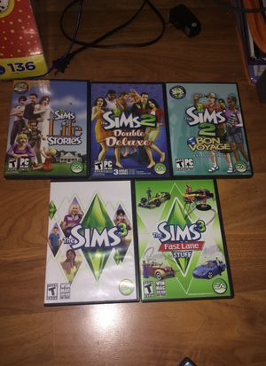 Sims games for laptops for Sale in Redwood City, CA