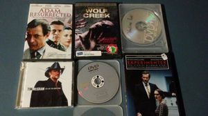 6 DVDS CDS Wolf Creek Avengers Vantage Point for Sale in Aurora, CO